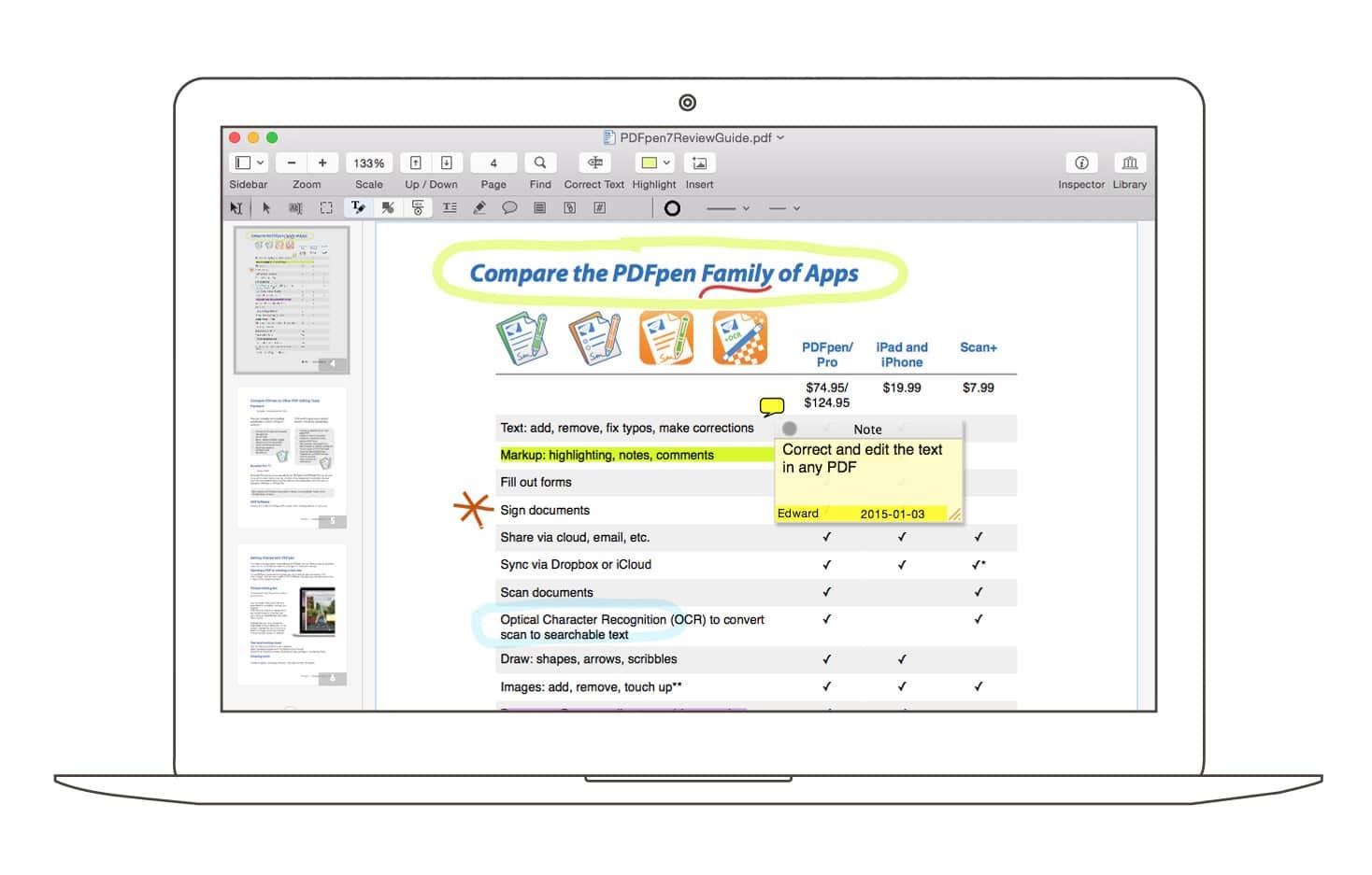 how to create interactive pdf mac os