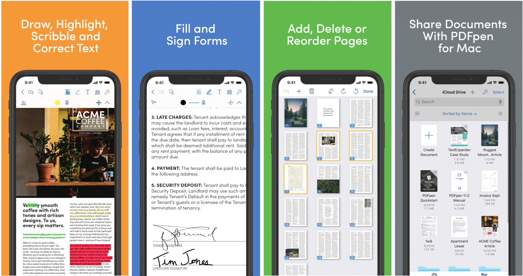 Mobile PDF Editing with PDFpen for iPad & iPhone