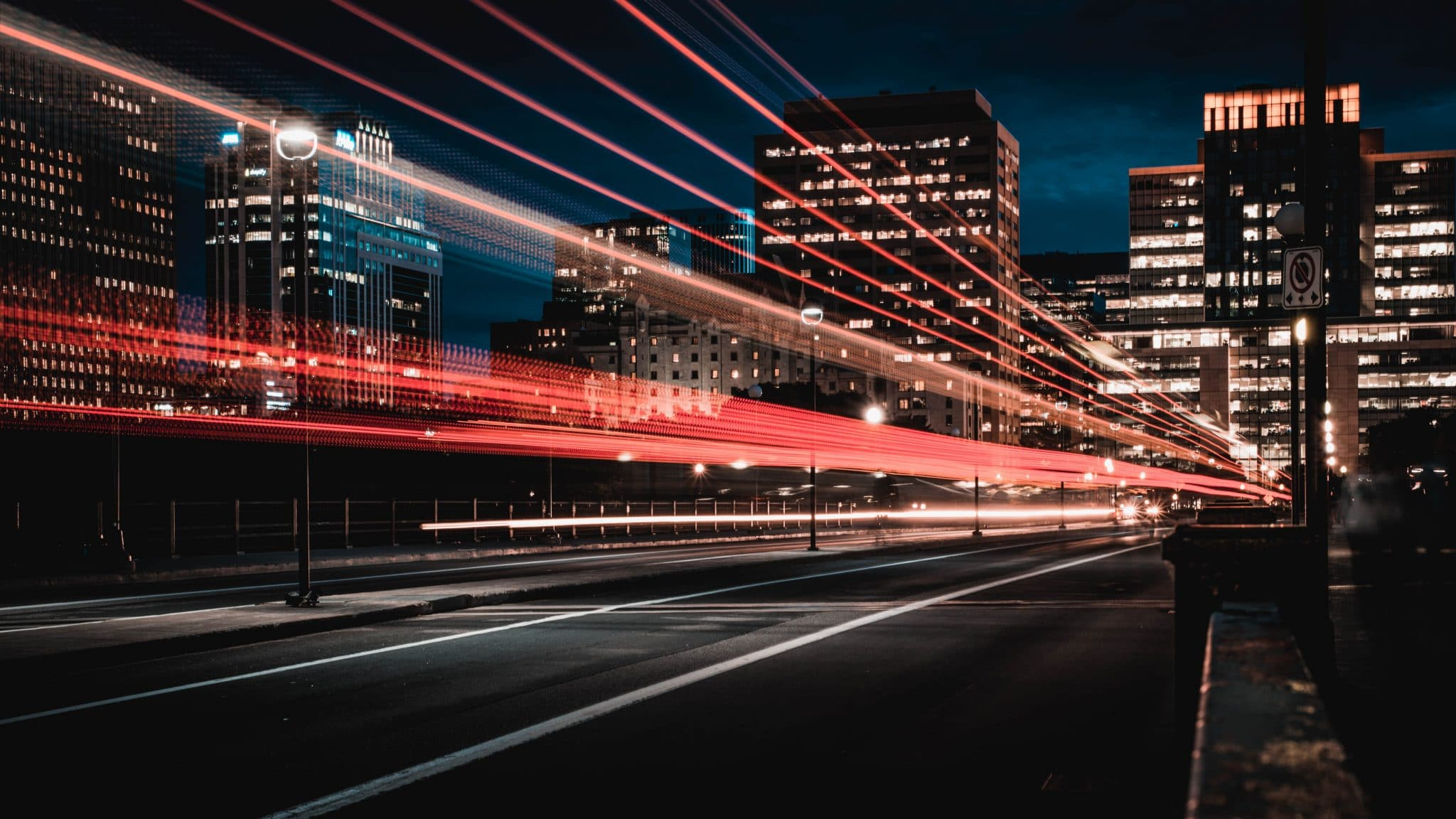 Image of city lights. Create PDF templates to streamline your processes.