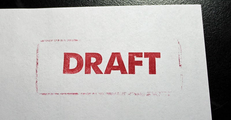 Draft is just one type of stamp from the PDFpen Library.