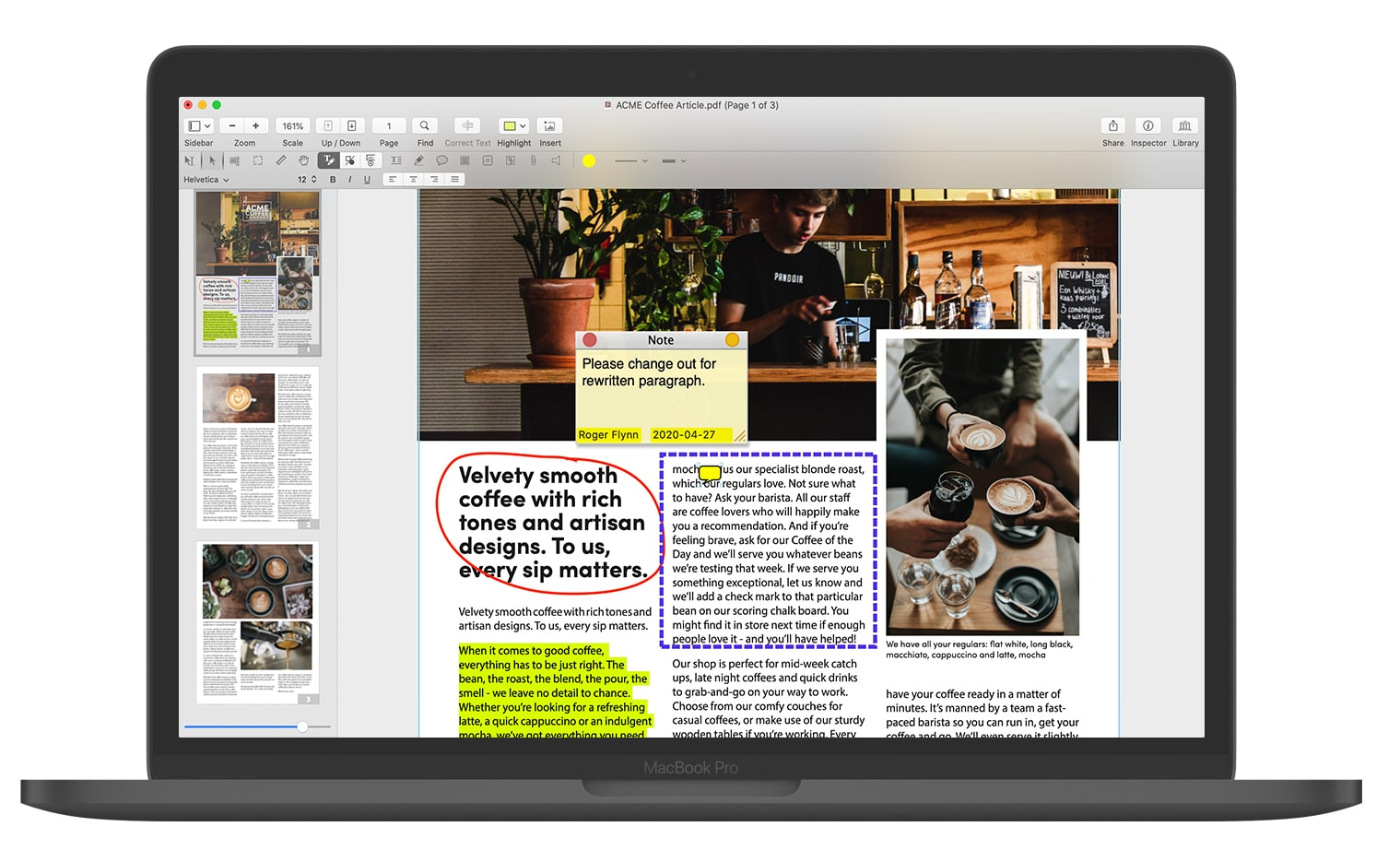 PDFpen 12 Adds Optimize PDF, Magnifier Window, Callout Tool, and More Image
