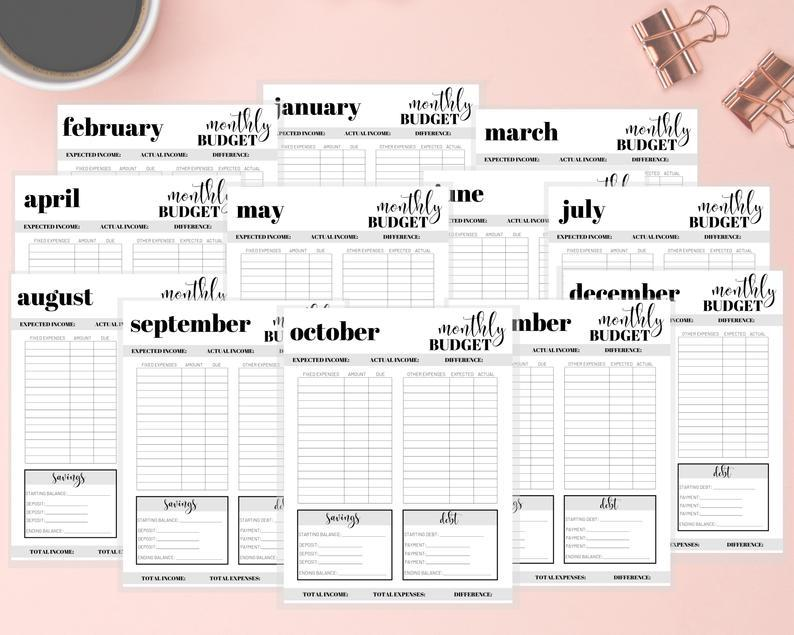 Printable template created with PDFpen
